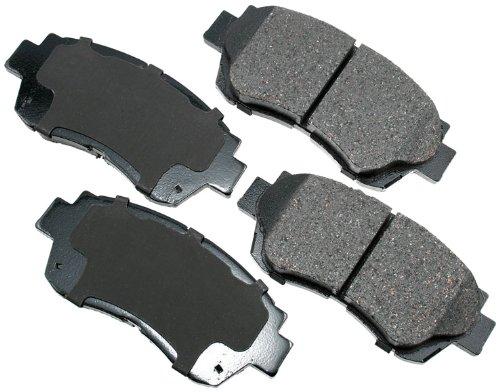 Akebono ACT707 ProACT Ultra-Premium Ceramic Brake Pad Set