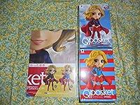 販促ディスプレイPOP付 スーパーガール Q posket 全2種set SUPERGIRL DC/スーパーマン