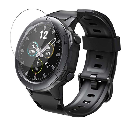 Vaxson 3 Unidades Protector de Pantalla de Cristal Templado, compatible con Vigorun 1.3' sw01 Smartwatch smart watch, 9H Película Protectora
