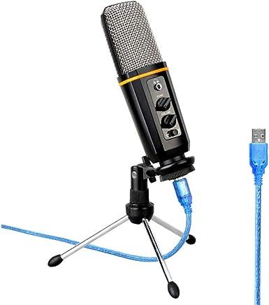 KAIFH Il Microfono USB È Dotato di Plug-in per Microfono per Karaoke con Riverbero della Scheda Audio E Microfono per Microfono A Condensatore per Conferenze per PC Portatile Iph0ne Ip @ D - Trova i prezzi più bassi