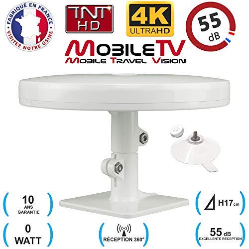 Omni Pro Plus 55dB - Antena de televisión DVBT / TDT (55 dB, DVBT/TDT 4K, OMNIDIRECCIONAL), camión y Furgoneta