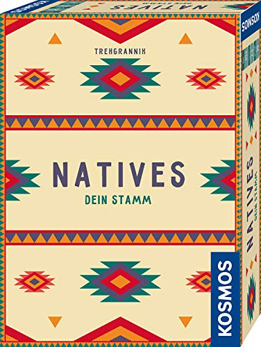 KOSMOS 695033 Natives - Dein Stamm, Brettspiel