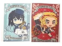 鬼滅の刃 アニメイト 特典 非売品 ポストカード イラストカード 2枚セット