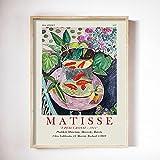 Henry Matisse Kunst Aquarium Poster abstrakte Frau Gesicht