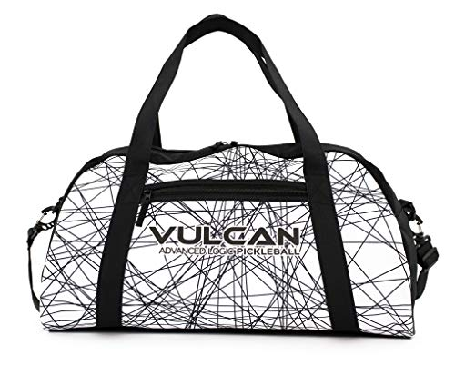 Vulcan Pickleball Duffel (Black Lazer)