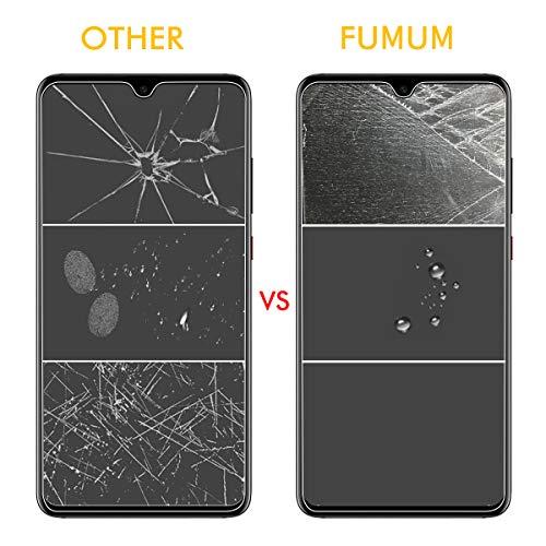 FUMUM Huawei Mate 20 Folie, Premium 9H HD Schutzfolie für Huawei Mate 20 (16,23cm) Schutzglas [Anti Fingerabdruck] Bubble-frei-2 Pack - 4