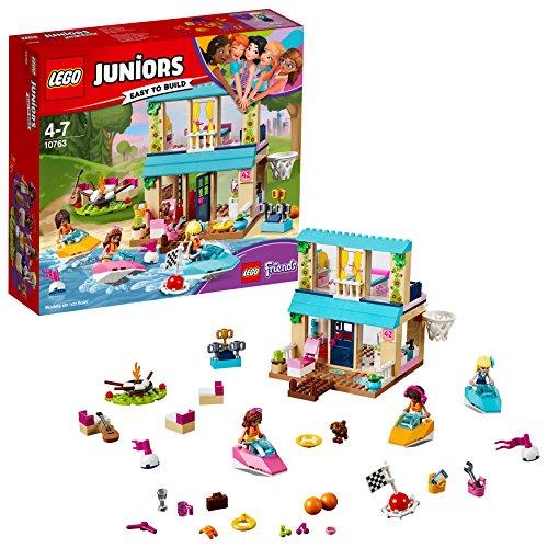 LEGO Juniors Stephanies Hütte am See 10763 Spielzeug für Kinder ab 4 Jahren
