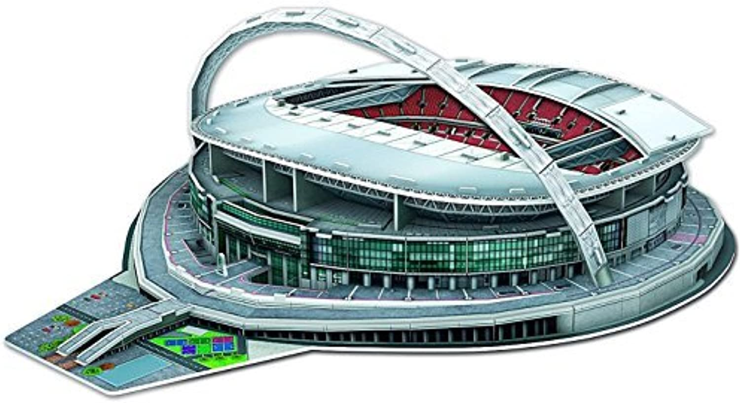3D Puzzle - Wembley Stadium by Paul Lamond