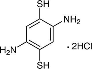 TCI America: 2,5-Diamino-1,4-benzenedithiol Dihydrochloride, D2022-25G, 97.0% (HPLC)