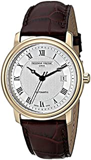 Frederique Constant Men's FC-303MC4P5 Classics Automatic Silver Roman Numerals Dial Watch