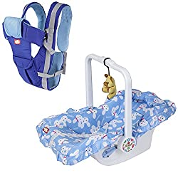 Dash 7 in 1 Multifunctional Baby Carrier and Cot (Blue),Dash