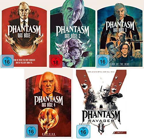 Phantasm / 1-5 (Das Böse) FSK 18 im Set - Deutsche Originalware [5 DVDs]