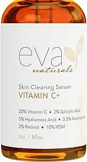 Vitamin C Serum Plus 2% Retinol, 3.5% Niacinamide, 5% Hyaluronic Acid, 2% Salicylic Acid,..