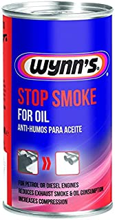 WYNNS Stop Smoke Oil ADDITIVE Petrol Diesel Engines Reduce Exhaust Smoke
