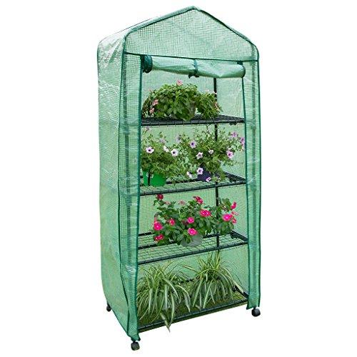 Finether Garden Greenhouse: 3-Tier Walk-In Greenhouse