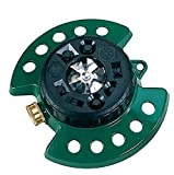 Dramm Metal Base, Green 15024 ColorStorm 9-Pattern Turret Sprinkler...