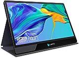 LABISTS 13.3' Monitor Portátil HDMI 1920x1080P, 16:9 IPS Panel con USB C, Dos Altavoces Integrados, Grosor 9,7mm, Compatible con Ordenador Portátil, Teléfono Móvil, PS3/PS4/XBOX, Raspberry Pi, Cámara