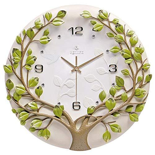 CMOIR Reloj de Pared para Sala de Estar y Dormitorio Sala Tridimensional Reloj de Pared de la Personalidad del Reloj de Pared del Arte Creativo decoración del Reloj Reloj de Pared Decorativo