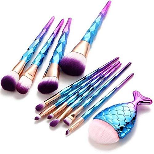 Cosmétique Pinceaux Kit, Pinceau Blush Pinceaux Pour Sourcils Brosse à Yeux Pinceau Contouring Pinceau Anticernes Pinceaux Maquillage Fard à Paupières Concealer-21