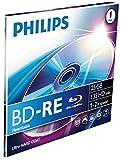 Philips 8712581528652 BD-RE 25GB 1 Pieza(s) Disco BLU-BLU-Ray - Discos de BLU-Ray en Blanco (BD-RE,...