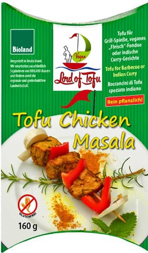 Lord of Tofu Bio Tofu Chicken Masala 160g