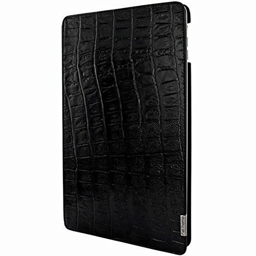 "Piel Frama 696COS ""FramaSlim"" Custodia in pelle per Apple iPad Air, motivo: coccodrillo selvatico, colore: nero"