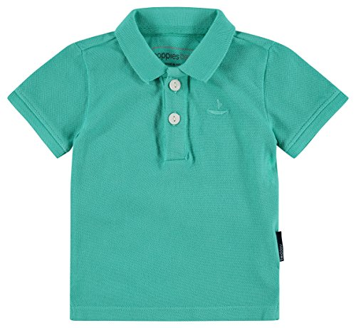 Noppies Noppies Schickes Poloshirt Kurzarm aus 100% BW Pique in Türkis Grün 84334 (56)