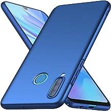 ORNARTO Funda Huawei P30 Lite,P30 Lite Carcasa [Ultra-Delgado] [Ligera] Mate Anti-arañazos y Antideslizante Litetectora Sedoso Caso para Huawei P30 Lite(2019) 6,15 Pulgadas Azul
