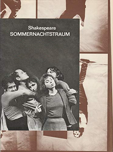 Programmheft William Shakespeare SOMMERNACHTSTRAUM 1980