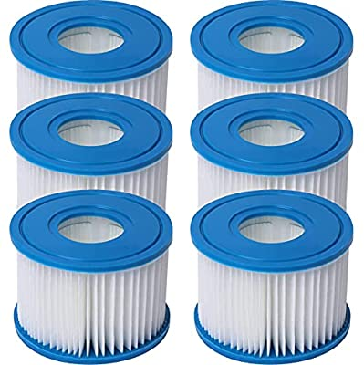 29001E Purespa Type S1,Easy Set Pool Cartridges,S1 Filter Cartridge Hot Tub,11692 Spa Filter (6 Pack)