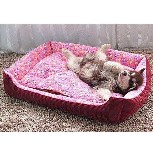 Hundekissen Hundematte Hundebett Bett Für Hund Katze Cord Gepolstert Wasserdicht Waschbar Haustier Hausmatte Weiches Sofa Zwinger Hunde Katzen Haus Hundebetten Für Große Hunde 70X