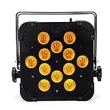 MFL LED Par Lights Par Can Light 6 in 1 RGBWA UV Led Slim Par WIRELESS DMX (no battery,no remote control)