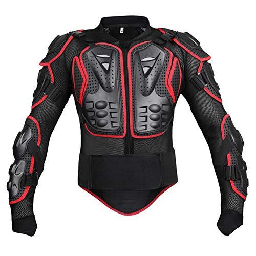 SHUOJIA Chaqueta De Protección Para Motocross Motos Ropa Protectora De Cuerpo...