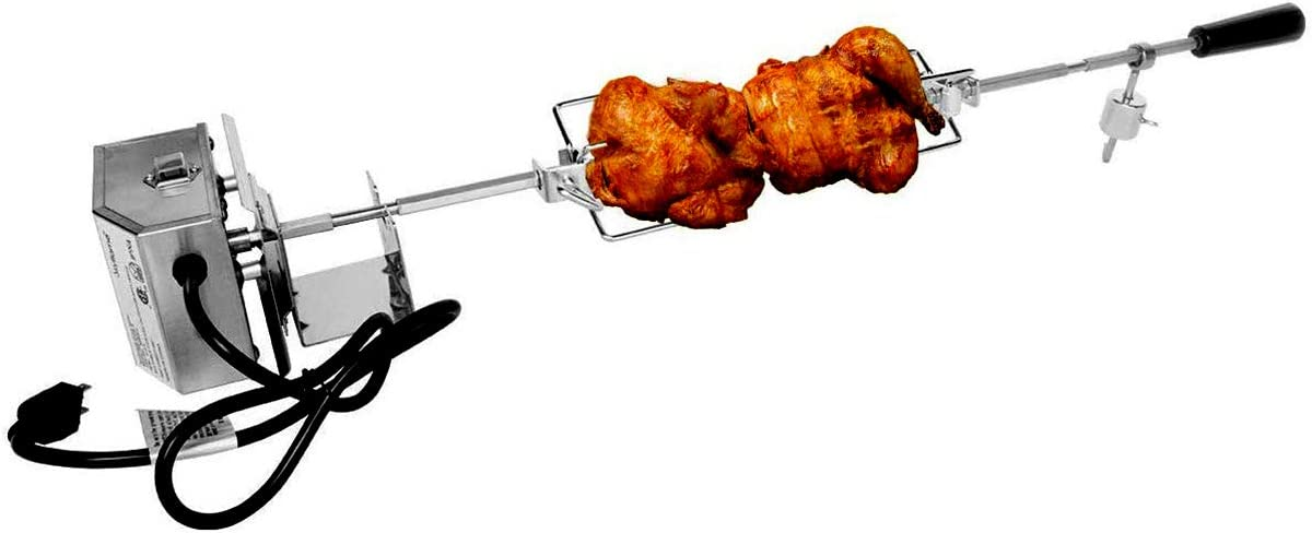 half Skyflame Stainless Brand Cheap Sale Venue Steel Complete Grill Kit with Elec Rotisserie