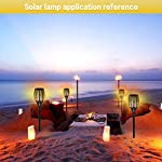 Aityvert Solar Torch Light Upgraded-Flickering Flames Torches Lights-Waterproof Solar Lights Outdoor Landscape… 4