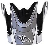 Vega Graphic Replacement Visor for Mojave Jr. Off-Road Helmet (Black)
