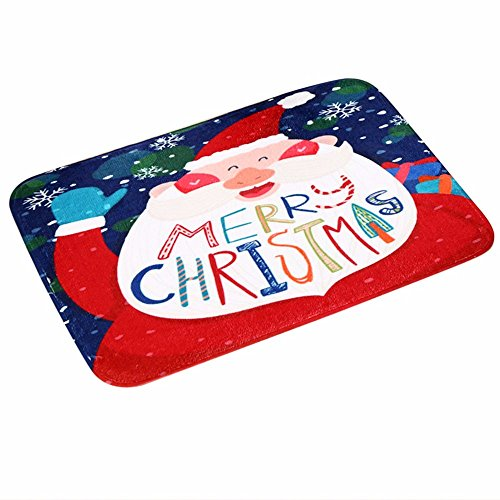 Producto navideño, JiaMeng Navidad bienvenida felpudos