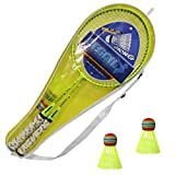 Cutygo Raquette de Badminton pour Enfants Set de Badminton Raquette Double, Légère et Robuste, Adaptée aux Débutants et Aux Jeux de Sport Parents/Enfants Intérieur/Extérieur