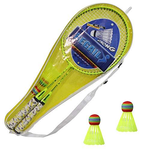 Raquetas de bádminton Juego de bádminton Kids Play Game Toy para principiantes de bádminton Juegan herramientas deportivas para niños