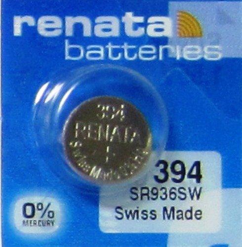 Renata Uhrenbatterie SP 394 ///;(380+) SR936SW (SR45,AG9,LR936,LR45,194);1 Pack