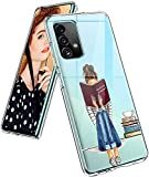 Funda para Samsung Galaxy A52, funda de silicona, transparente, dulce mandala, funda protectora para niñas, suave TPU, funda flexible resistente a los arañazos para Samsung A52 5G/4G