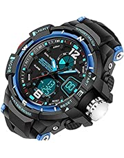 Kids Watches Sports Watch for Boys Children's Digital LED Wristwatches