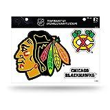 NHL Rico Industries Die Cut Team Magnet Set Sheet, Chicago Blackhawks