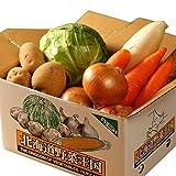 北海道産 野菜セット 旬の新鮮お野菜詰め合わせ 7品種以上 80サイズ 約4〜5kg 調理しやすい常備野菜がメインのつめあわせ