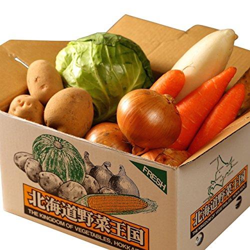 北海道産 野菜セット 旬の新鮮お野菜詰め合わせ 9品種以上 100サイズ 調理しやすい常備野菜がメインのつめ...