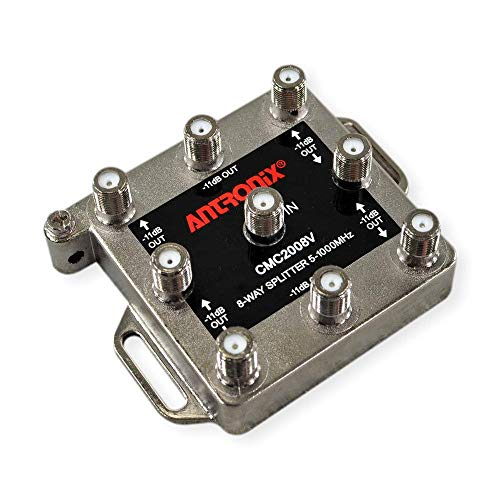 New Antronix digital ready 8 way cable splitter CMC2008V for CATV and antenna