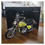 El Maquetas Coche Motocross Fantastico Fuera De Impresión 1:12 Modelo De Motocicleta De Aleación De Simulación Para Honda Gold Wing GL1000 Colección De Modelos Para Adultos Regalo Coche De Juguete Reg