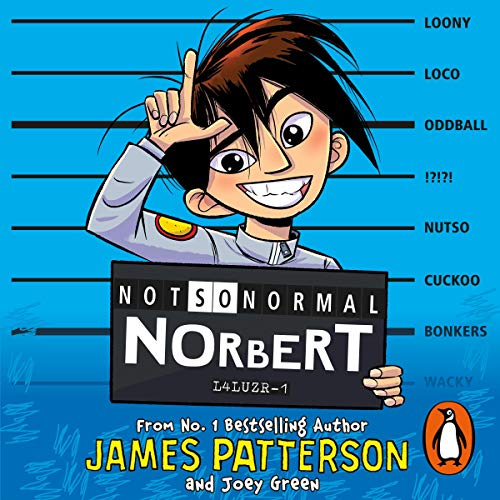 Not So Normal Norbert audiobook cover art
