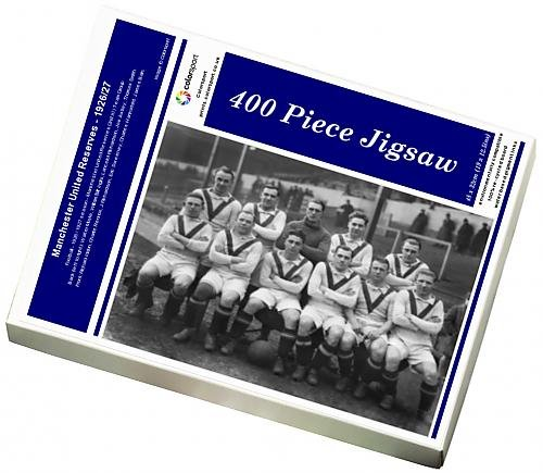 Media Storehouse 400 Piece Puzzle for Adults of Manchester United Reserves - 1926/27 (6454583)