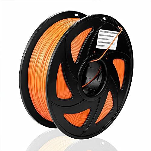 SIENOC 1Kg ABS 1,75mm 3D Printer Filamento Spool 3D Materiale di stampa per stampanti (arancione)